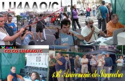 QSL Especial 136° Aniversario del Barrio de Saavedra